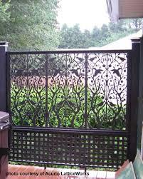 Custom Trellis Panels Vinyl Lattice Panels Black Lattice Panels Privacy Lattice Panels