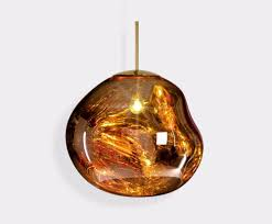Amber Glass Pendant Lights by Pendant Lights Tom Dixon
