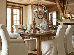 agreeable pottery barn style dining rooms country primitive drum