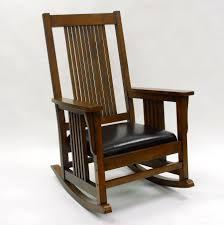 Jefferson Rocking Chair Carolina Cottage Chestnut Mission Rocker 4727 Nc