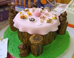 teddy bear tea party cake nc state fair cake decorating co u2026 flickr