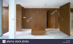 Wooden Panelling by Wood Panelling In Entrance Hallway Margoliouth Rd Singapore