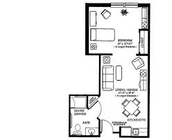 one bedroom cottage floor plans one bedroom home floor plans dayri me