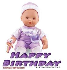 happy birthday in advance greeting cards