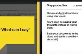 speech to text specialist nuance mobilizes dragon app