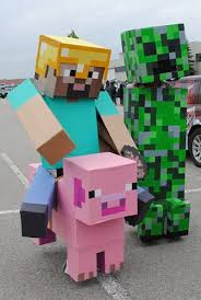 minecraft costumes this just may become our next family costume idea