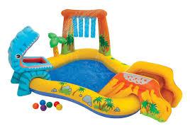 Intex Inflatable Pool Intex Inflatable Dinosaur Pool And Play Center