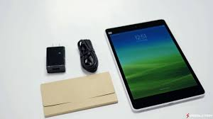 fastest android tablet xiaomi mi pad nvidia tegra k1 unboxing world s fastest android