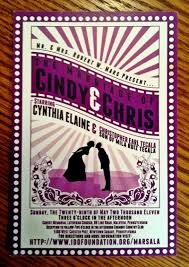 invitations by michaels movie themed wedding reception michael sanders graphic design