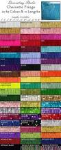 Home Decor Trim by Chainette Fringe Trim 63 Colors 11 Lengths For Costume Dance