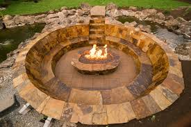 Fire Pit With Water Feature - style water fire pit design water tank fire pit water heater