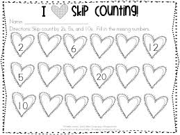 skip counting worksheets kindergarten free worksheets library