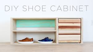Home Made Modern by Diy Shoe Storage Cabinet Youtube
