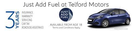 pequot car dealership new u0026 used peugeot dealer shropshire telford motors