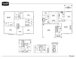 images of floor plans the eliot floor plans goodall homes