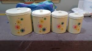 funky kitchen canisters vintage kitchen canisters zeppy io