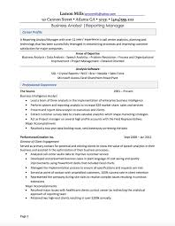 business analysis resume resume makeover for business analyst resume u2014 careercloud