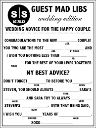 bridal mad libs 17 best ideas about wedding mad libs on emasscraft org 8 jpg