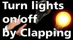 clap to turn off lights turn light on off with clap arduino project youtube