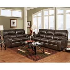 Leather Reclining Living Room Sets Reclining Living Room Set In Chocolate Leather