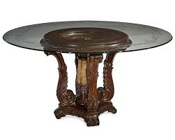traditional round glass dining table appealing dining table traditional round pedestal kitchen design