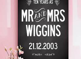10 year wedding anniversary gifts for 2 traditional 10 year wedding anniversary gift ten year wedding