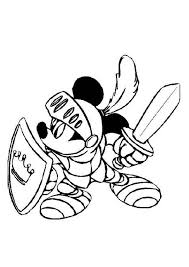 mickey mouse safari coloring pages mickey le chevalier bulk color