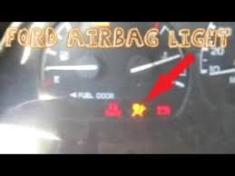 ford f150 airbag light replacement ford airbag light code 27 diagnosis ranger f 150 f 250 youtube