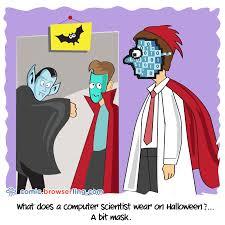 halloween computer science comics cartoons and jokes