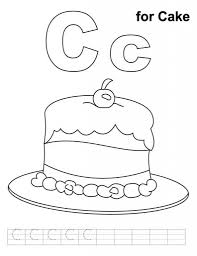 letter c colouring pages for letter c coloring page cool