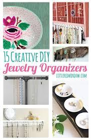 organizing yourself 15 creative diy jewelry organizers diy jewelry organizer creative
