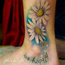 50 best daisy tattoos designs and ideas with meanings