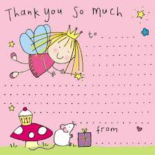birthday thank you card you notes for thank you cards for children thank you