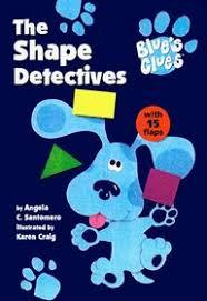 blues clues super shaped board book flap shape detective blues