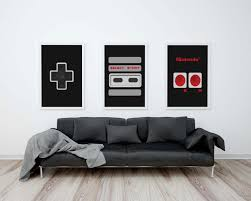 appealing nintendo controller wall art mike tysons punch out wall cool nintendo wall art zoom wall ideas full size