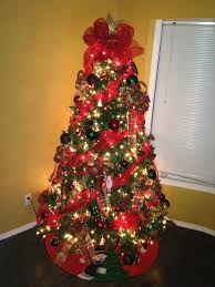 Decorate Christmas Tree With Deco Mesh by Christmas Tree Decorations With Ribbons U2013 Happy Holidays
