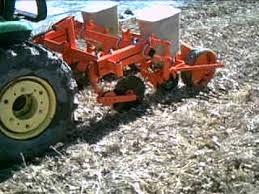 2 Row Corn Planter by Ac Two Row No Till Planter Youtube