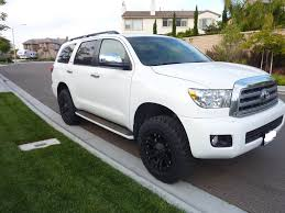 toyota sequoia lifted pics sequoia lifted w tires and wheels ih8mud forum