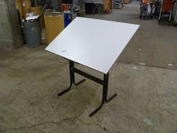Small Drafting Table Portland State Surplus Small Drafting Table 30 X 42