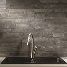 slate backsplash kitchen update your kitchen by installing this aspect charcoal slate