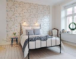 wallpaper accent wall dining room fabulous home ideas