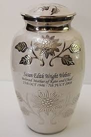 cremation urns for adults chapel hill memorial park new world accents pearl white
