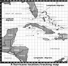 Hurricane Tracking Map Florida Hurricane Statistics
