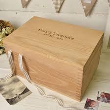 Personalised Keepsake Box Personalised Oak Keepsake Memory Box Create Gift Love