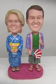 Wedding Gift Japanese Aliexpress Com Buy Express Free Shipping Personalized Bobblehead