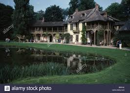 Versailles France Map by France Ile De France Paris Versailles Palace The Queens Cottage In