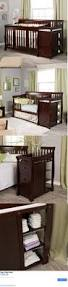 4 In 1 Crib With Changing Table Baby Nursery Convertible Baby Crib 4 In 1 With Changing Table