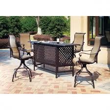 outdoor furniture bar sets furniture ideas