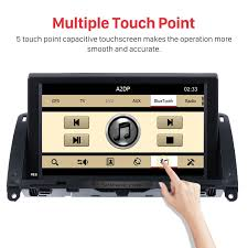 inch touch screen 2007 2011 mercedes benz c class w204 head unit