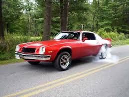 chevrolet camaro 1974 1974 chevy camaro burnout